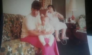 baby GLEN. MOM AND ME