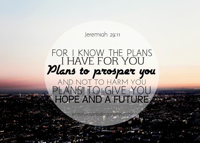 jeramiah 29 11