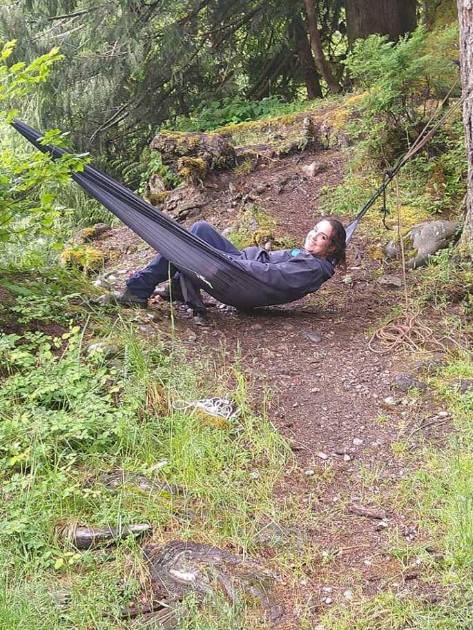 Kristie's hammock